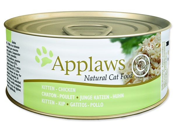 Konzerva APPLAWS Kitten Chicken 70g